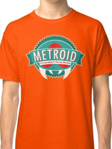 Metroid Cartography and Bounty Hunting Classic T-Shirt