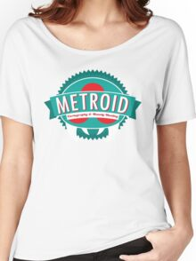Metroid Cartography and Bounty Hunting Women's Relaxed Fit T-Shirt
