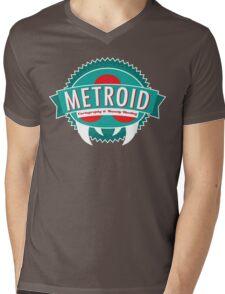 Metroid Cartography and Bounty Hunting Mens V-Neck T-Shirt