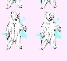 Mint Bear by Ashley Brinkman