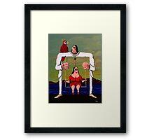 Swing of Love Framed Print
