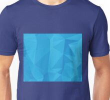 Abstract Blue Geometric Background 2 Unisex T-Shirt