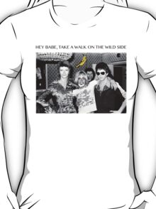 - DAVID - IGGY - LOU - HEROIN - T-Shirt