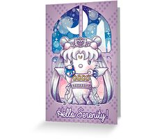 Hello Serenity Greeting Card