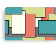 Blocks (Spring) Canvas Print