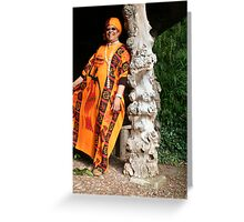 Mother of Creation Greeting Card