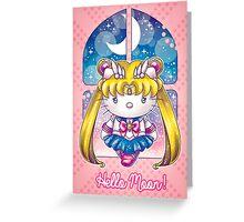 Hello Senshi Greeting Card