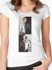 Hannibal - The Tables Are Turning Women's Fitted Scoop T-Shirt