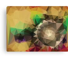Abstract Colorful Geometric Background Canvas Print