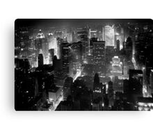 Sleepless In Manhattan Canvas Print