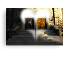 Weddings Doors Canvas Print