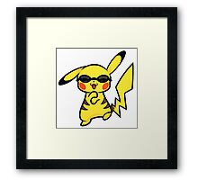 Pikachu Gangnam Style Framed Print