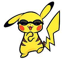 Pikachu Gangnam Style Photographic Print