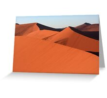Shapes In The Desert Greeting Card