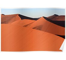 Shapes In The Desert Poster