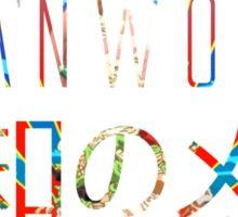 LEANWORLD Sticker