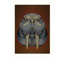 the walrus is my favorite spirit animal. Art Print
