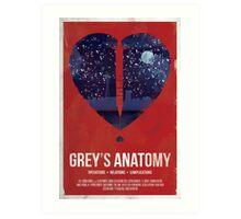 Grey's Anatomy Print Art Print