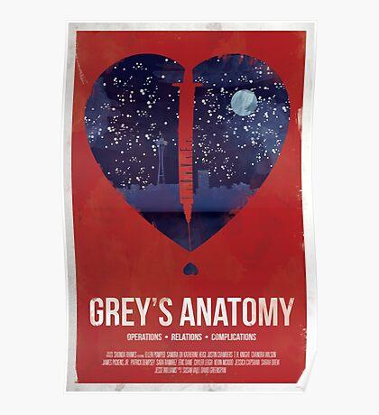 Grey's Anatomy Print Poster