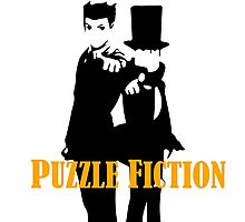 Puzzle Fiction Photographic Print