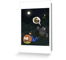 Pumpkin Pie (Banjo Kazooie) Greeting Card
