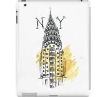 Chrysler Building New York Sketch iPad Case/Skin
