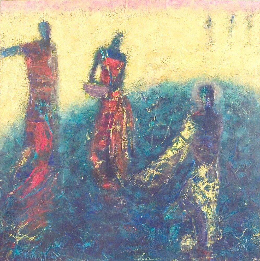 Blue Oblivion by painterlady