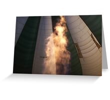 Hot Air Greeting Card