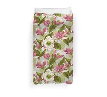 Magnolia Bloom - Morning Duvet Cover