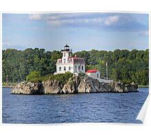 Lighthouse on Pomham Rocks | Narragansett Bay Series *featured Poster