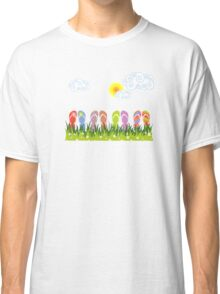 Flip Flops Having Fun in the Sun Classic T-Shirt