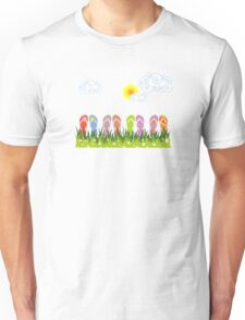 Flip Flops Having Fun in the Sun Unisex T-Shirt
