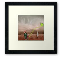 Basant Sonic Kite Flying near Mons Olympus Framed Print
