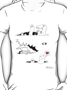 Ripped Monsters T-Shirt