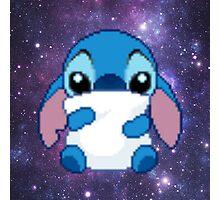 Cute Pixel Stitch Photographic Print