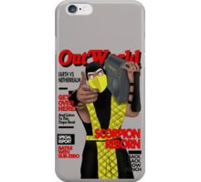 Scorpion On The Cover iPhone Case/Skin