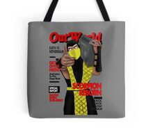 Scorpion On The Cover Tote Bag
