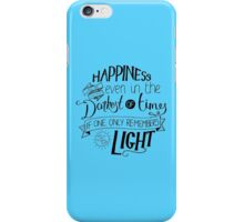 Happiness can be Found iPhone Case/Skin