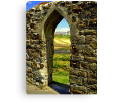 Bude Castle Archway Canvas Print