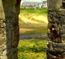 Bude Castle Archway Sticker