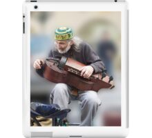 Organ Grinder Man iPad Case/Skin