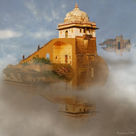 The Floating Palaces of Shingrila Hunza Prime by Kenny Irwin