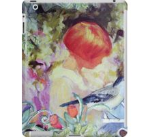 GIRL IN GARDEN - Antique Collage iPad Case/Skin