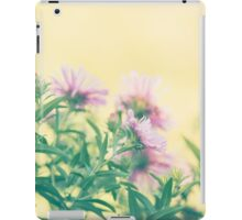yellow calm and natural charm iPad Case/Skin