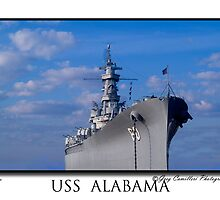 The USS ALABAMA by gcamilleri