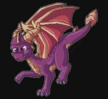 Spyro pixel art by floravola