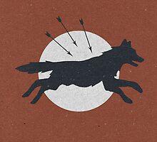Wolf & Arrow by Zeke Tucker