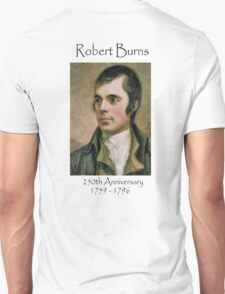 Tribute to Robert Burns T-Shirt T-Shirt