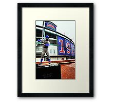 Wrigley Field 100th-Let's Play 2! Framed Print