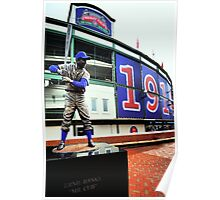 Wrigley Field 100th-Let's Play 2! Poster